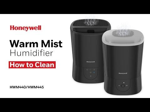 Honeywell Top Fill Warm Mist Humidifier HWM440/HWM445 - How to Clean