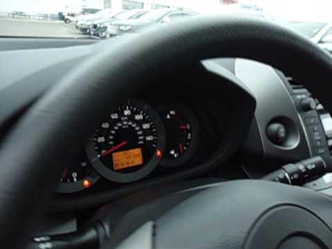 2010 Toyota RAV-4 Sport V6, shown by Chad Rawson at Luther Brookdale Honda