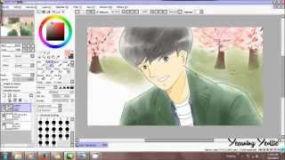 EXO Chanyeol - Dating Alone [Speed Paint]