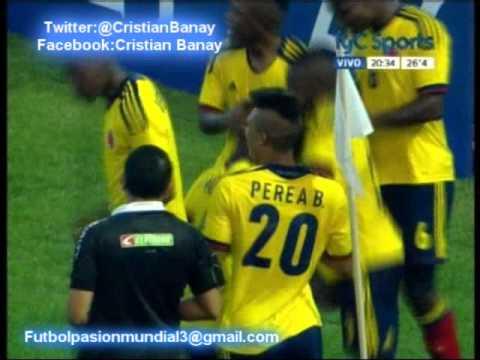 Paraguay 0 Colombia 1 (Audio Radio Oriental) Sudamericano Sub 20 2013 (9/1/2013)