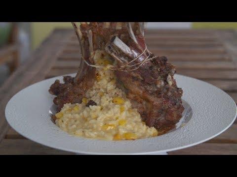 Recette carr d agneau et risotto de butternut et carottes m t o la carte youtube - Recette meteo a la carte ...