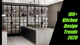 100 Kitchen Design Trends For 2020 Youtube