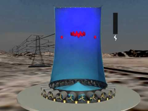 Solar Wind Energy Tower Demonstration