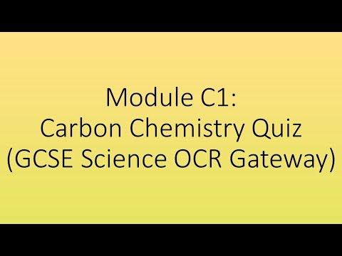 Module C1 - Carbon Chemistry Quiz (GCSE Science OCR Gateway)