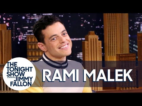 Rami Malek Tells Jimmy about His Freddie Mercury Transformation