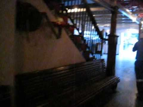 "Inside of ""Trillium"" oldest steamship on n americas great lakes"