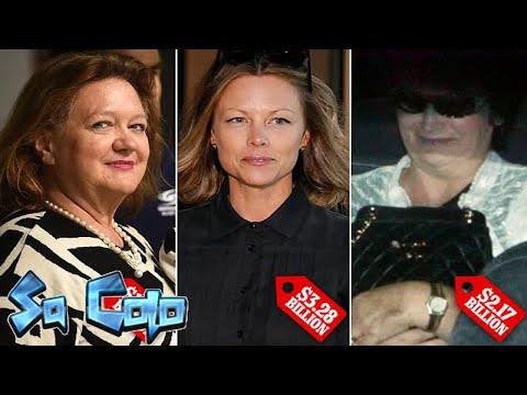 The five richest women in Australiarevealed