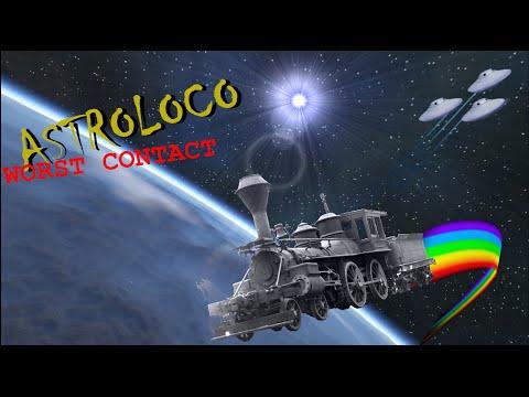 RAINBOW DRIVE LAZERBEAMS!!- Astroloco: Worst Contact Episode 1