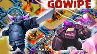 Clash of Clans - GoWiPe Attack Strategy Guide - TH11 LOW LEVEL HEROES