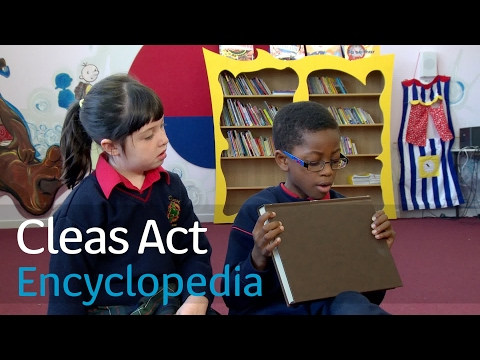 Cleas Act | What's an Encyclopedia? | TG4