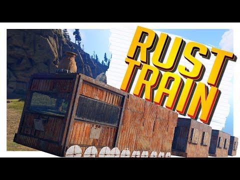 Living In A Train! - Rust