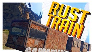 Living In A Train! - Rust