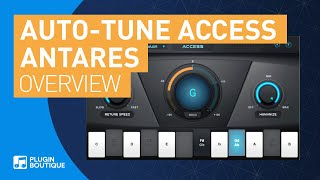 Auto-Tune Access by Antares | Vocal Pitch Correction Tutorial