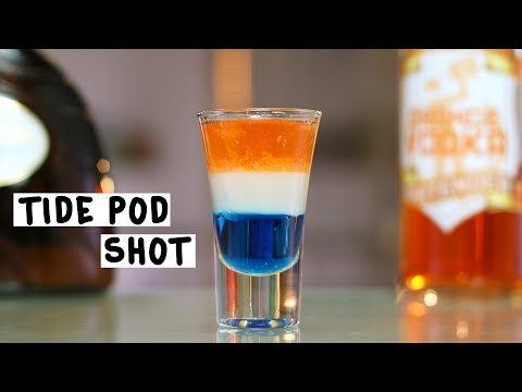 Laundry Detergent Shot - Tipsy Bartender