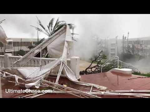 Hurricane Maria video from Fajardo, Puerto Rico