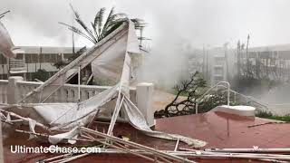 Hurricane Maria video from El Conquistador Hotel in Fajardo, Puerto Rico