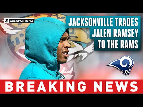Jaguars trade cornerback Jalen Ramsey to Rams for two first-round picks  CBS Sports HQ