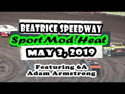05/03/2019 Beatrice Speedway Sport Mod Heat