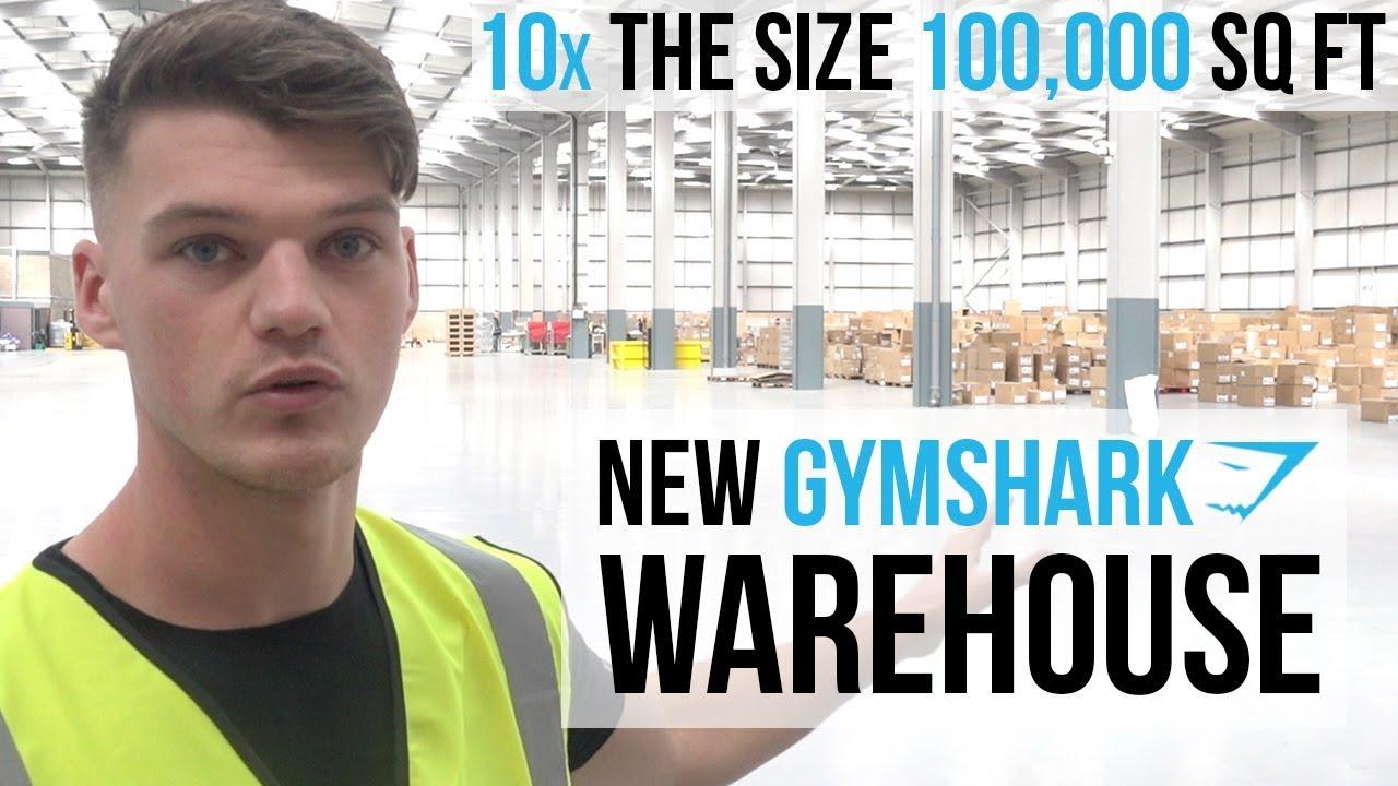 100 000 Sq Ft New Gymshark Warehouse Tour Business Vlog Ben