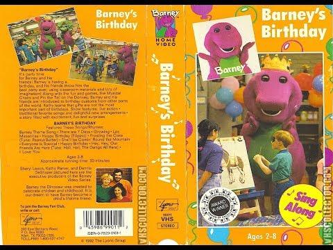 Barney's Birthday (1992) [VHS] full in HD