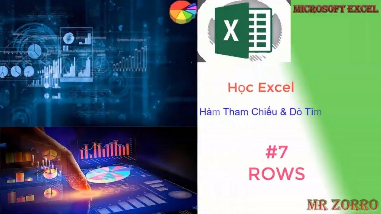Hàm ROWS | Học Excel #7