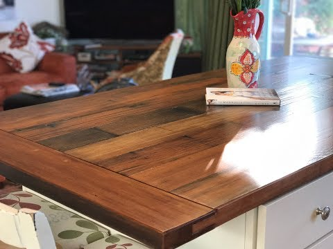 making-a-farmhouse-table-and-island-with-rustic-reclaimed-redwood-and-breadboard-ends