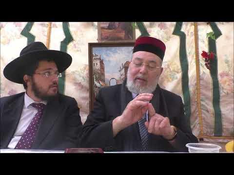 הרב אליהו אברגל מספר על רבני מרוקו חלק ב