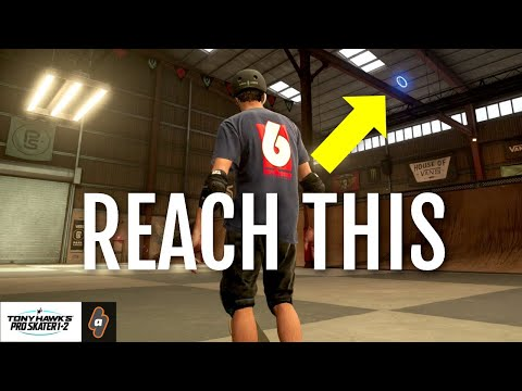 How to Reach Stat Point in Skate Park Chicago Competition | THPS 1+2