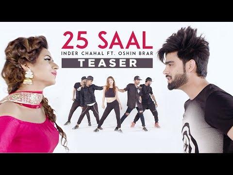 25 Saal (Song Teaser) | Inder Chahal Ft Oshin Brar | Latest Punjabi Song 2017