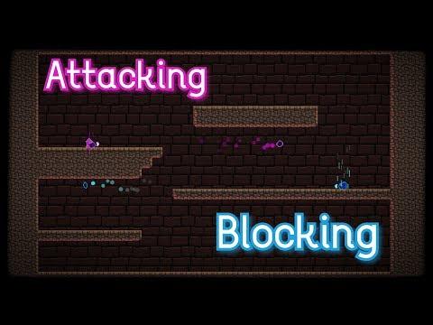 Blocking & Attacking - Game Development in Gamemaker Studios 2 [ DEVLOG #03 ] thumbnail