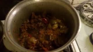 Картошка в аэрогриле и овощное рагу