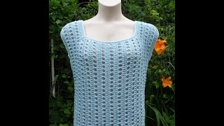 Gambar cover HOW TO CROCHET AN EASY SUMMER TOP | CROCHET TOP FOR BEGINNERS | Bag O day TUTORIAL #246