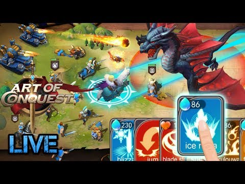 Art Of Conquest Live- Challenging Bosses