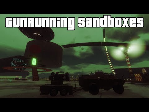 GTA 5 Online - Gunrunning Sandboxes (Fun Modded Capture)