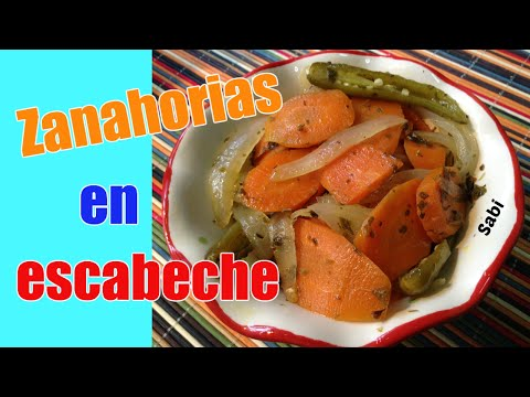 Zanahorias y cebollas en vinagre 39 las mas deliciosas 39 doovi - Encurtido de zanahoria ...