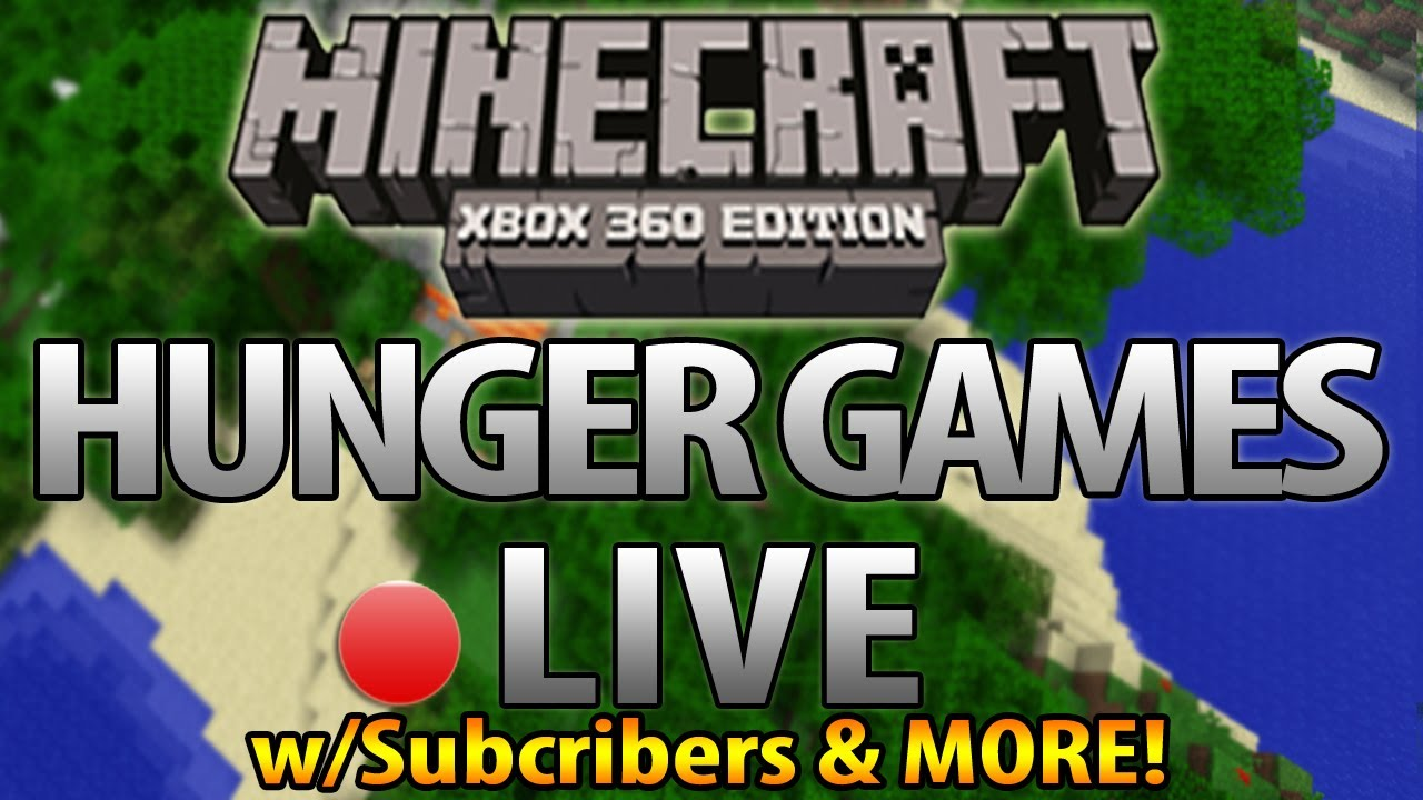 Xbox 360 Hunger Games : Minecraft xbox hunger games live w subscribers