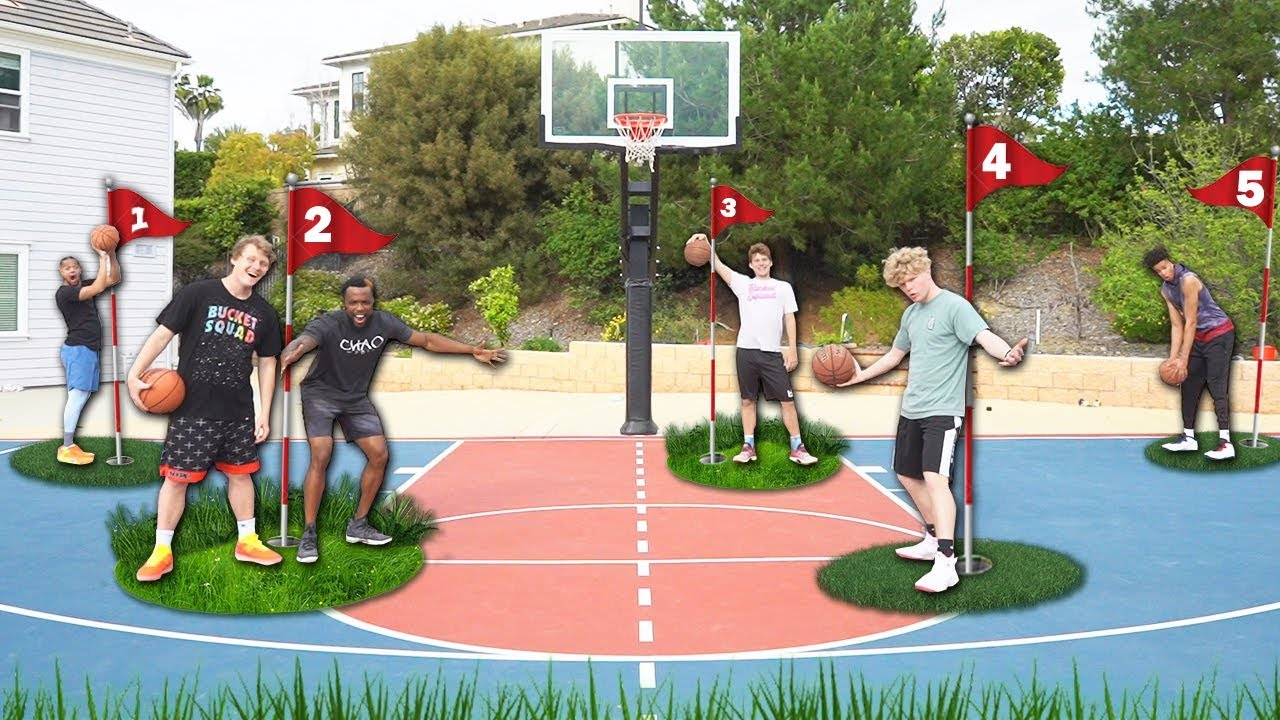 2HYPE BASKETBALL - GOLF SHOOTING CHALLENGE!