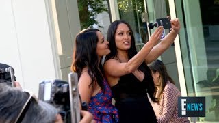 Brie Bella Gives Status Update on Sister Nikki Bella and John Cena on Total Bellas