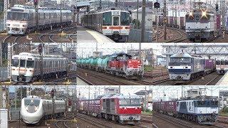 【JR東海&貨物】平日9時半頃~12時半頃の清洲駅を通過する列車
