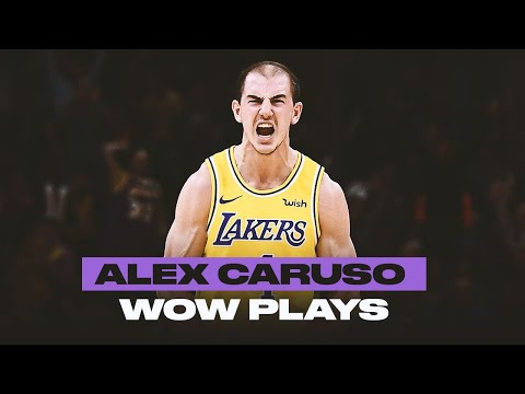Alex Caruso Is A Playmaker | Best WOW Plays