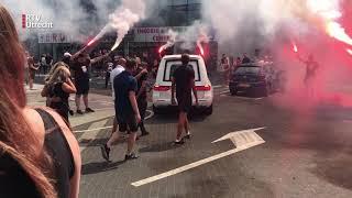 Eerbetoon Aan Overleden Fc Utrecht-fan Jacky Bij Stadion Galgenwaard Rtv Utrecht