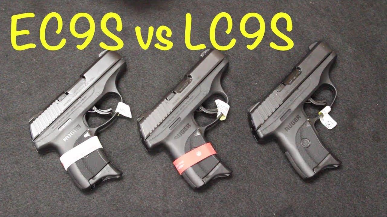 Ruger EC9S vs LC9S vs Pro