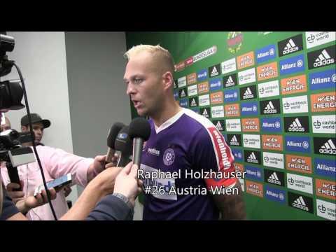 322. Wiener Derby: Louis Schaub (Rapid) und Raphael Holzhauser (Austria) im Interview