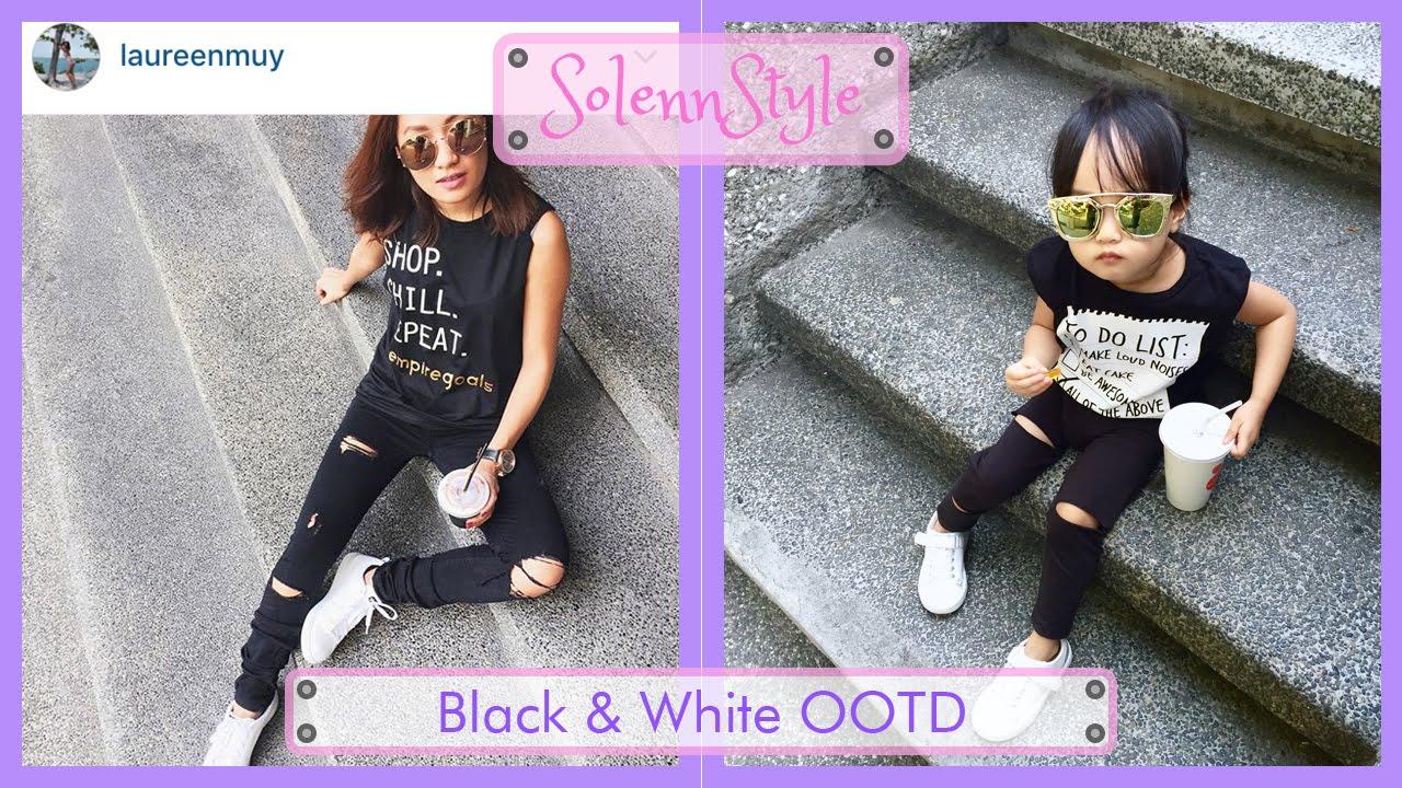 94a6229da995 Solenn s Black   White OOTD - YouTube