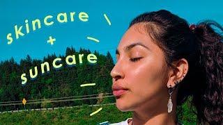 Skincare + Suncare Routine ☀️ protecc your skin