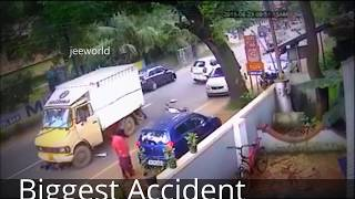 Most Dangerous Accident In India Amazing Video
