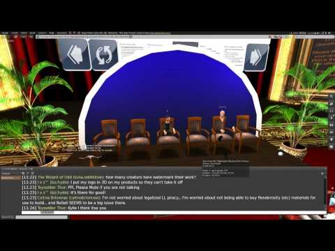 2013 10 20 ZOC Legal Panel Discussion Of The Second Life TOS