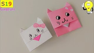 how to make an origami envelope | paper crafts for kids | bunny envelope | easy origami