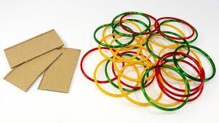 Best craft idea | Diy old bangles reuse idea | DIY arts and crafts | Amazing craft idea