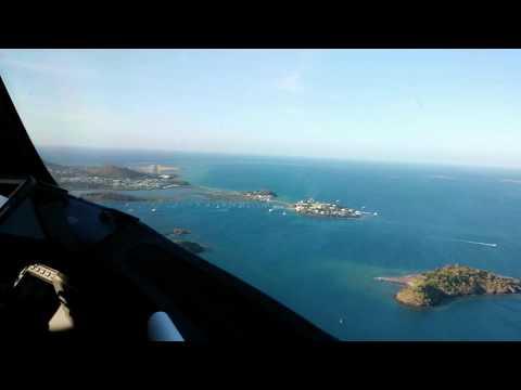 Atterrissage en B787 Dreamliner à Mayotte Dzaoudzi DZA